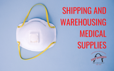 Shipping and Warehousing Medical Supplies