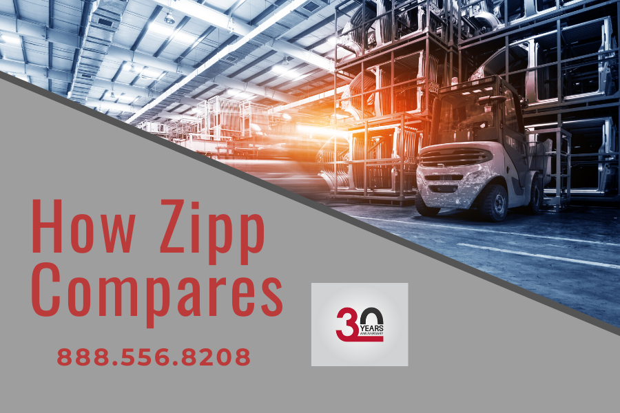 How Zipp Express Compares to the Competition