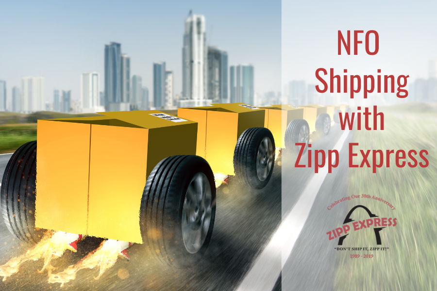 NFO Delivery Through Zipp Express