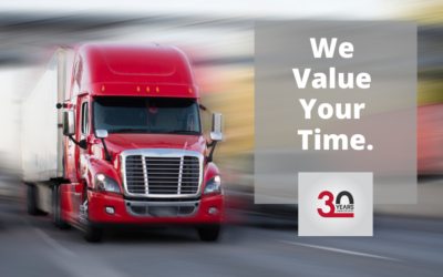 We Value Your Time