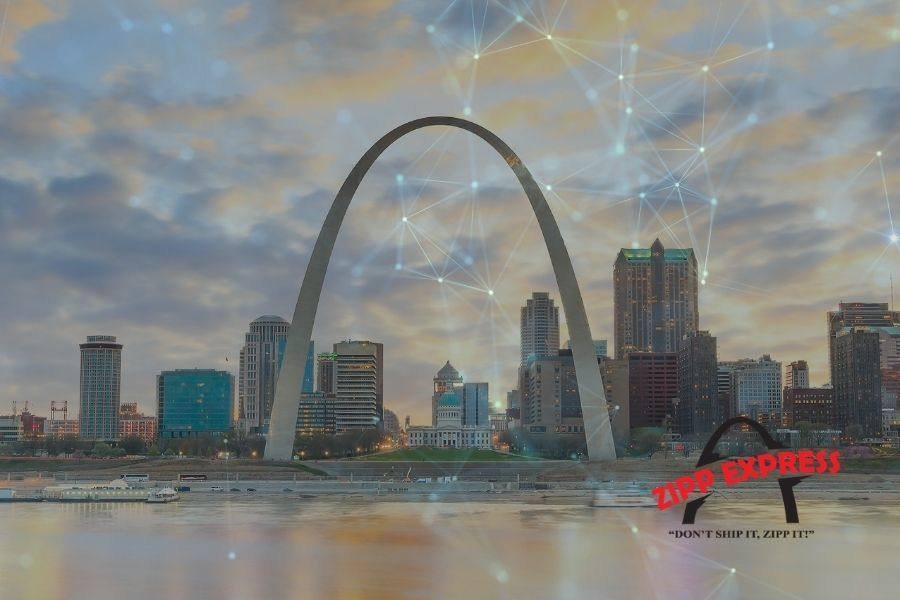 Zipp Express Stl St. Louis technology local delivery